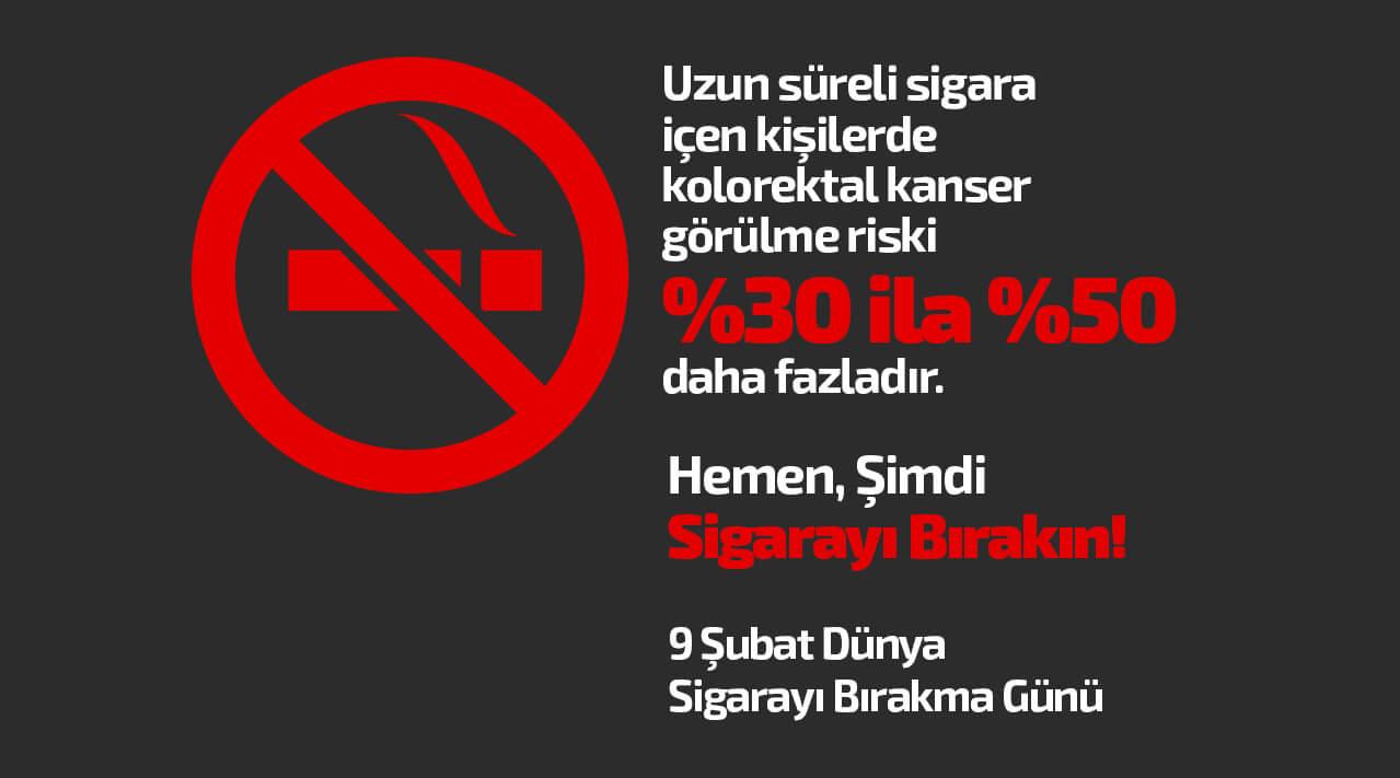 Sigara İçmek Kolon Kanseri Riskini Artırıyor